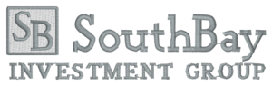 SouthBay Investment Group logo digitized embroidery design