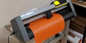 Graptec CE6000-60 PLus Cutter/Plotter for cutting custom designs out of heat printing material